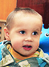 Лева Муртазин, 2 года, детский церебральный паралич, требуется продолжить лечение. 196600 руб.