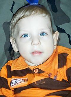 Владик Приходько, полтора года, поражение центральной нервной системы, детский церебральный паралич, требуется лечение. 199620 руб.