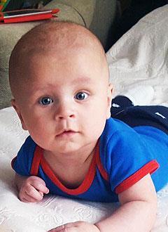 Паша Яковлев, 6 месяцев, деформация черепа, требуется лечение специальными шлемами. 180000 руб.