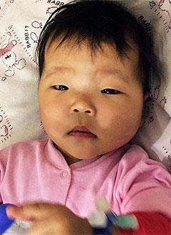Айлина Белазова, 2 года, врожденный порок сердца, спасет операция. 252697 руб.
