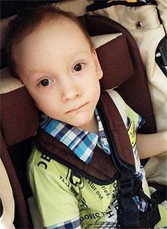 Артем Халиулин, 5 лет, детский церебральный паралич, требуется лечение. 199430 руб.