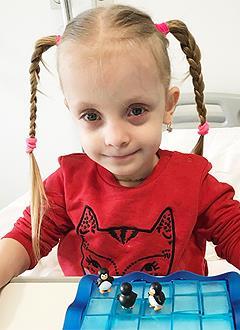 Варя Мачалина, 5 лет, несовершенный остеогенез, требуется курсовое лечение. 527310 руб.