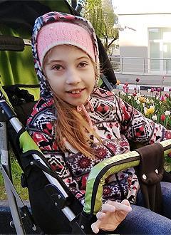 Даша Торопова, 9 лет, врожденный гиперинсулинизм, эпилепсия, спасет лекарство. 359488 руб.