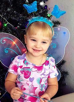 Вероника Акентьева, 2 года, врожденный порок сердца, спасет эндоваскулярная операция. 342500 руб.
