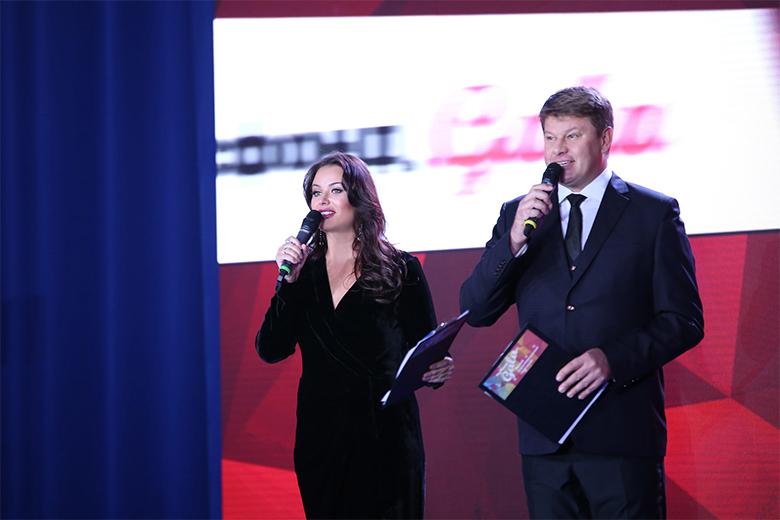 Оксана Федорова и Дмитрий Губерниев